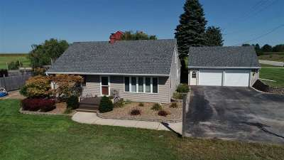 Black Creek Single Family Home Active-No Offer: N6021 Hwy 47