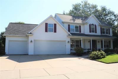 Appleton Single Family Home Active-No Offer: 4224 N Windcross