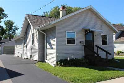 Menasha Single Family Home Active-No Offer: 329 3rd