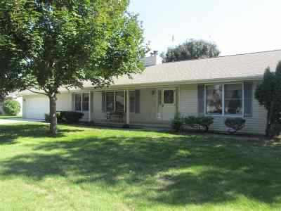 Neenah Single Family Home Active-No Offer: 1417 Windmar