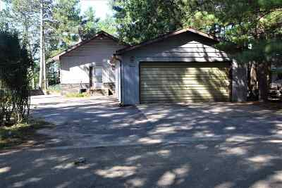 Waupaca Single Family Home Active-No Offer: N2465 Cleghorn