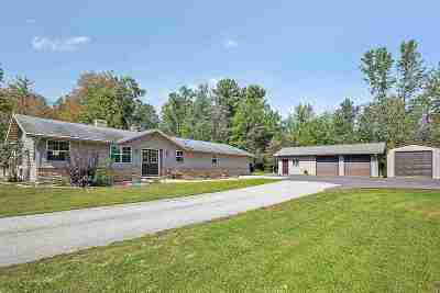 Oconto Single Family Home Active-No Offer: 5360 Tadpole