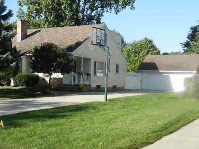 Neenah Single Family Home Active-No Offer: 1315 Whittier