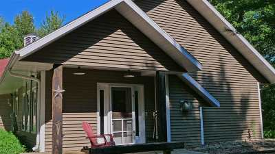 Waupaca Single Family Home Active-No Offer: N3030 Crestwood