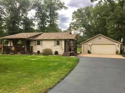 Shawano Single Family Home Active-No Offer: N6545 W Loon Lake