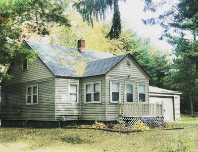 Shawano Single Family Home Active-No Offer: N6634 Lake