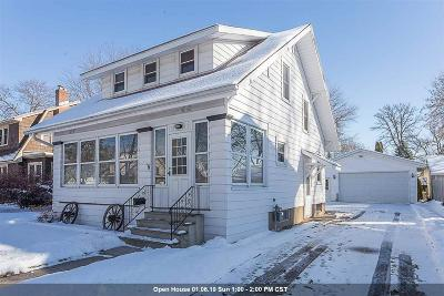 De Pere Single Family Home Active-Offer No Bump: 615 S Superior