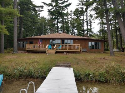 Single Family Home Active-No Offer: N5201 E Little Silver Lake