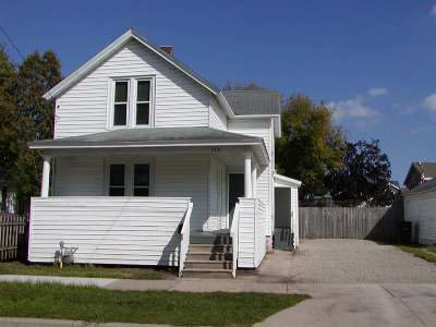 Oshkosh Single Family Home Active-No Offer: 710 Frederick