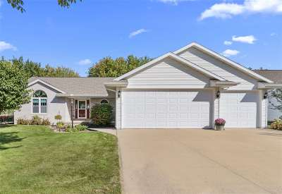 Appleton Single Family Home Active-No Offer: 540 W Crossing Meadows