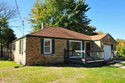 Menasha Single Family Home Active-No Offer: 644 Walbrun