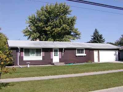 Oshkosh Single Family Home Active-No Offer: 2380 W 9th