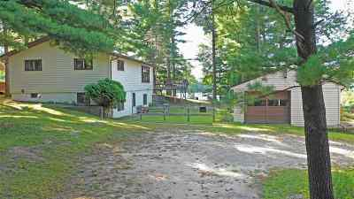 Waupaca Single Family Home Active-No Offer: N1206 Akron