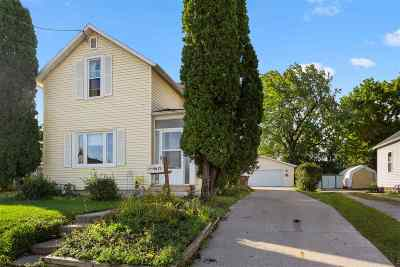 Menasha Single Family Home Active-No Offer: 817 3rd