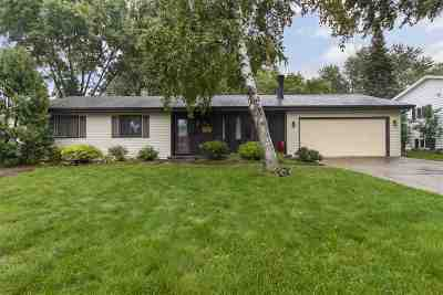 Appleton Single Family Home Active-No Offer: 532 N Canterbury