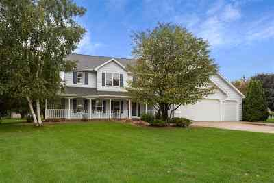 Kaukauna Single Family Home Active-Offer No Bump: W2241 Chestnut