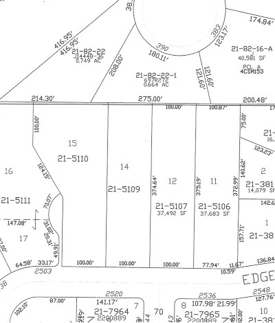 Green Bay Residential Lots & Land Active-No Offer: Edgewood