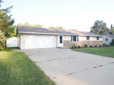 Green Bay Single Family Home Active-No Offer: 1312 Rockwell
