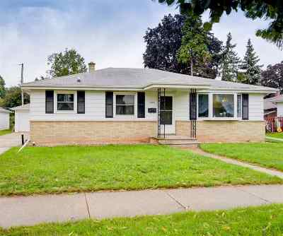 Appleton Single Family Home Active-No Offer: 1225 W Hawes