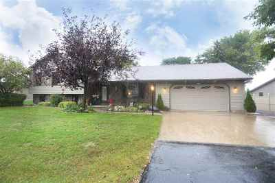 Appleton Single Family Home Active-No Offer: W2854 Schmalz