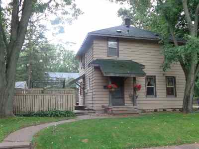 Shawano Single Family Home Active-No Offer: 418 W Pine