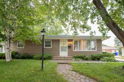 Appleton Single Family Home Active-No Offer: 125 S Joseph