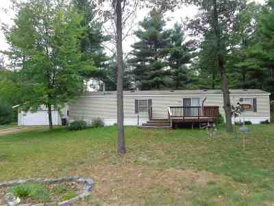 Shawano Single Family Home Active-No Offer: W4974 Parkwood