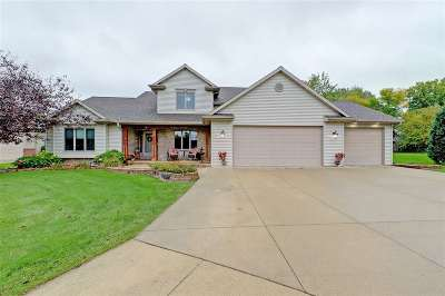 Appleton Single Family Home Active-No Offer: 2514 Hazelnut