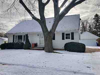 Appleton Single Family Home Active-Offer No Bump: 919 W Lindbergh