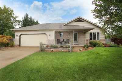 Menasha Single Family Home Active-No Offer: 1163 Fieldview