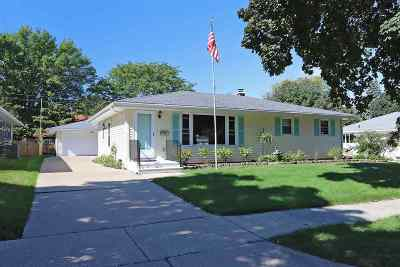 Appleton Single Family Home Active-Offer No Bump: 1001 S Matthias