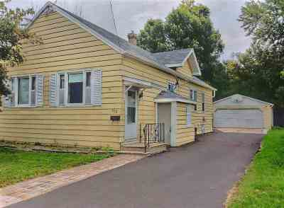 Neenah Single Family Home Active-No Offer: 618 S Commercial