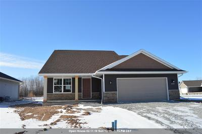 Appleton Single Family Home Active-No Offer: 4749 Indigo
