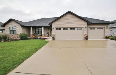 Menasha Single Family Home Active-No Offer: 923 Lotus