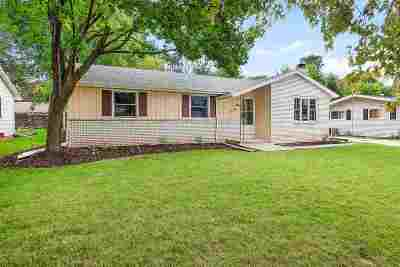 Menasha Single Family Home Active-Offer No Bump: 1033 Melissa