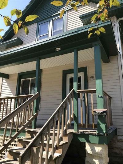Oshkosh Single Family Home Active-No Offer: 843 Franklin