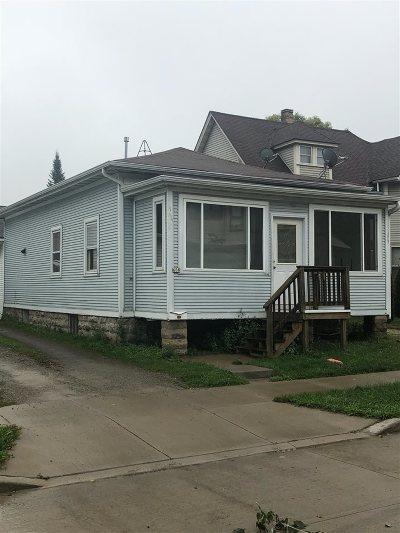 Oshkosh Single Family Home Active-No Offer: 608 Central
