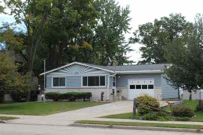 Shawano Single Family Home Active-No Offer: 1026 S Main