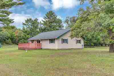 Wausaukee Single Family Home Active-No Offer: N13095 Pike River
