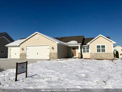 Appleton Single Family Home Active-No Offer: W5622 Hoelzel