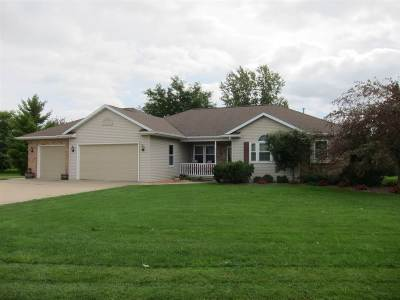 Kaukauna Single Family Home Active-No Offer: W2227 Pine