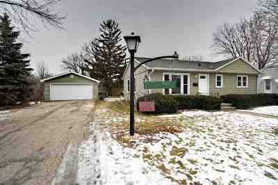 Menasha Single Family Home Active-Offer No Bump: 859 Roosevelt