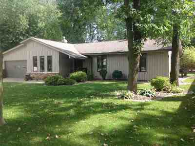Menasha Single Family Home Active-Offer No Bump: 1157 Woodland