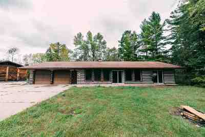 Peshtigo Single Family Home Active-No Offer: N4201 Bridge