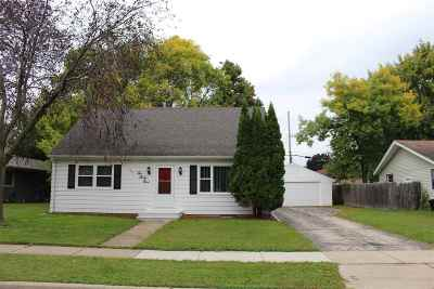 Neenah Single Family Home Active-No Offer: 1039 Melrose