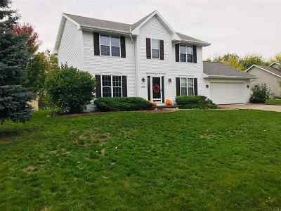 Green Bay Single Family Home Active-No Offer: 2932 Bay Settlement