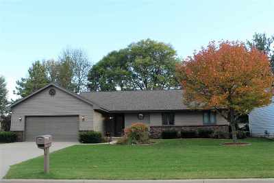 Appleton WI Single Family Home Active-No Offer: $195,000