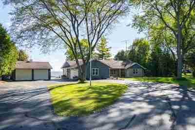 Oshkosh Single Family Home Active-Offer No Bump-Show: 4358 S Hwy 45