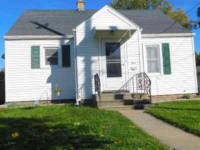 Menasha Single Family Home Active-Offer No Bump: 643 Manitowoc