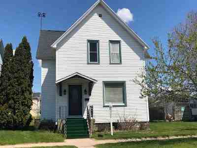 Marinette Single Family Home Active-No Offer: 1614 Sherman